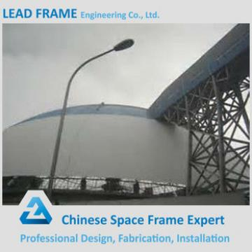 Pre fabricated steel structure dome coal storage roof