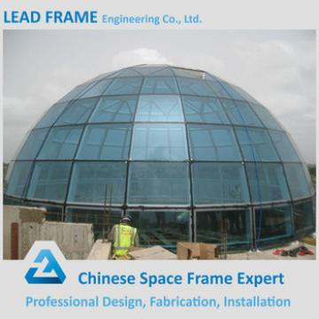 Top Quality Light Steel Framed Clear Glass Acrylic Dome