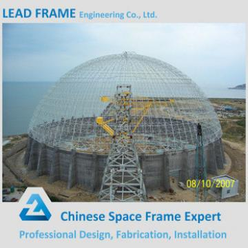 Dome Shape Steel Structure Storage Shed For Coal Yard