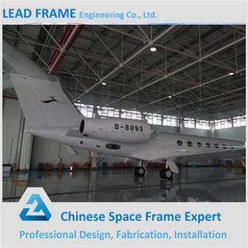Structural Steel Frame Steel Constructed Aircraft Hangar
