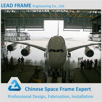 Steel Structure Space Frame Aircraft Hangar Design