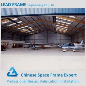 Light Weight space frame aircraft hangar with roof cover