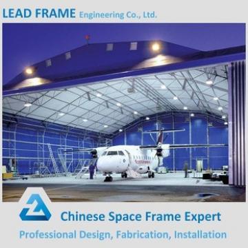 New product light steel prefab morden aircraft hangar