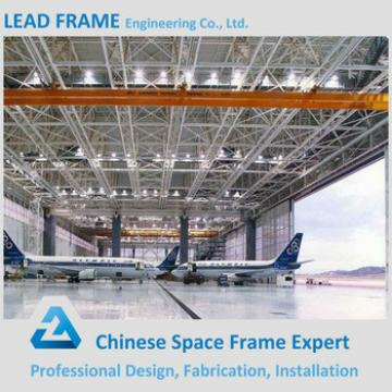 Prefabricated Light Gauge Steel Aircraft Hangar Construction
