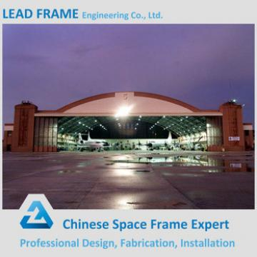 Waterproof prefab space frame steel structure hangar