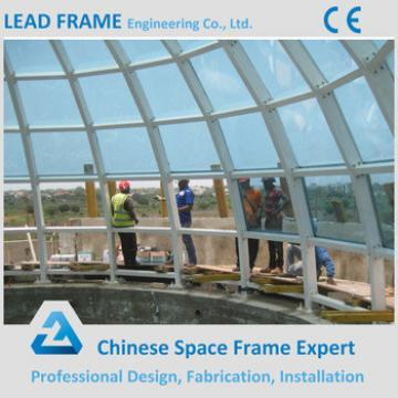 Q345 Galvanized Steel Building Skylight Glass