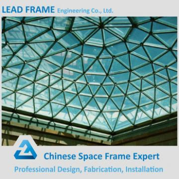 Barrel Shape Space Frame Dome Skylight For Church Auditorium