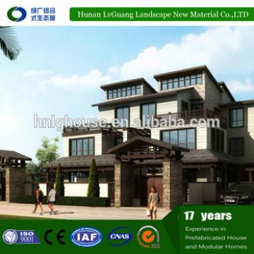 Hot sale prefabricated luxury modular house villa
