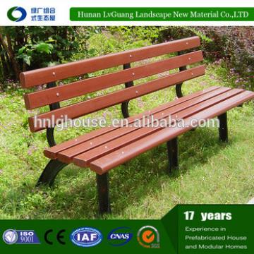 Wpc economic outdoor wooden slats for bench