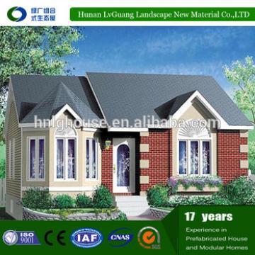 2016 Modern and Integrated lgs prefab Beautiful Prefabricated house