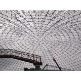 Structural Space Framework Curved Steel Roof Trusses for Cement Plant