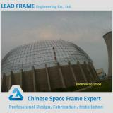 Seismic Performance Safe Space Frame Ball Joint Prefab Dome Roof Steel Structure