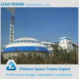 easy installation steel space frame for limestone storage domes