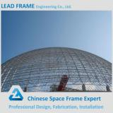 High quality steel space frame for limestone storage domes