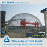 Steel Structure Space Frame Roofing Prefab Metal Structure 360 projection dome