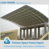 Galvanized space frame roofing system for bleachers