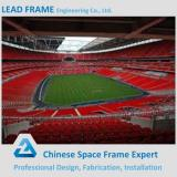 easy quick assemble prefabricated curved roof stadium