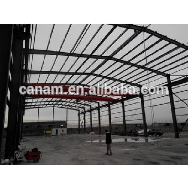 Steel structure warehouse sandwich panel wall warehouse high quality steel warehouse #1 image