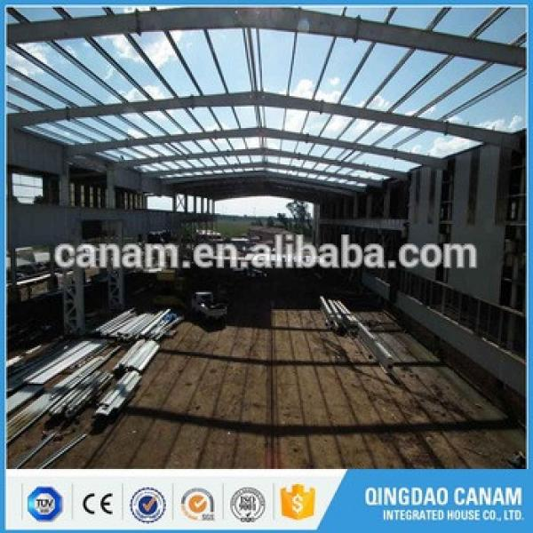 Alibaba online prefabricated construction steel structure South Africa workshop building with Iso & Ce certification #1 image