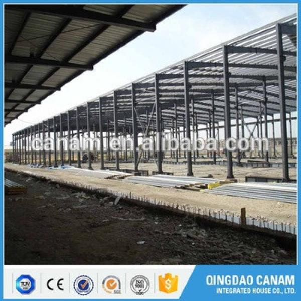 China supplier top prebuilt long span steel structure prefabricated warehouse building #1 image