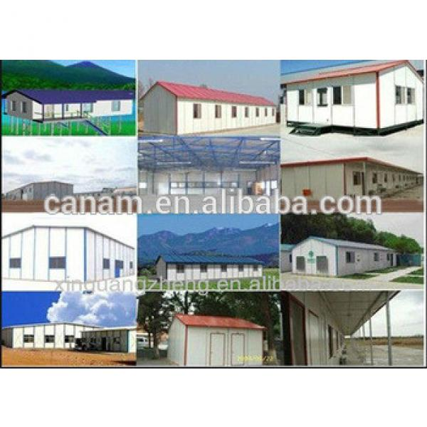 Pre Engineered steel structure prefabricated house Small warehouse #1 image