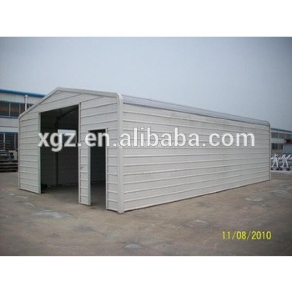 Prefabricated Light Steel Structure Garage for car parking #1 image