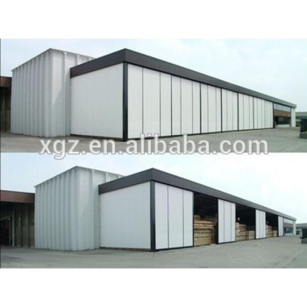 Prefabricated steel structure warehouse building kit #1 image