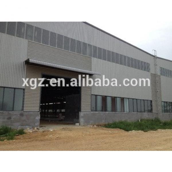 Low cost warehouse with steel structure and color steel sheet #1 image