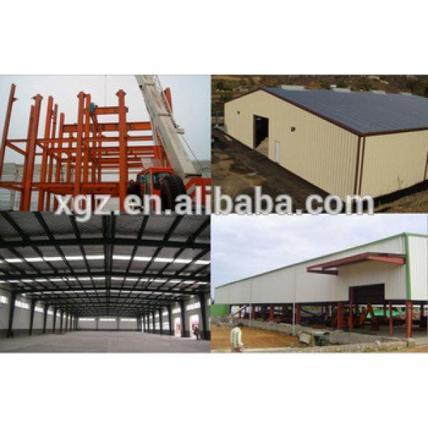 Reasonable price High Quality structural Steel shed building #1 image