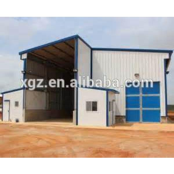 pre built buildings/pre formed sheet steel/light prefab steel sheds building #1 image