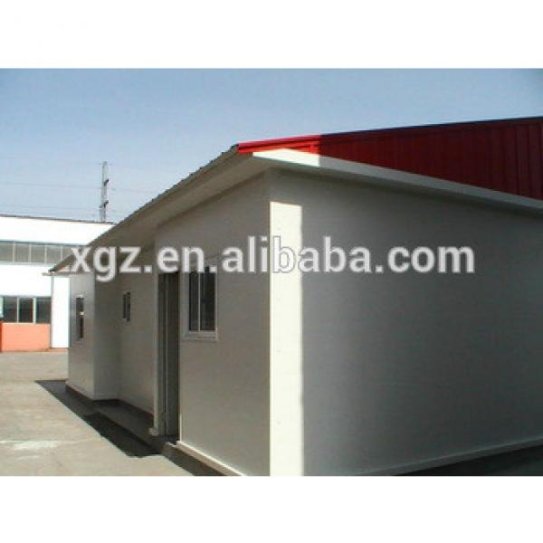 Flat roof steel structure prefabricated container house #1 image