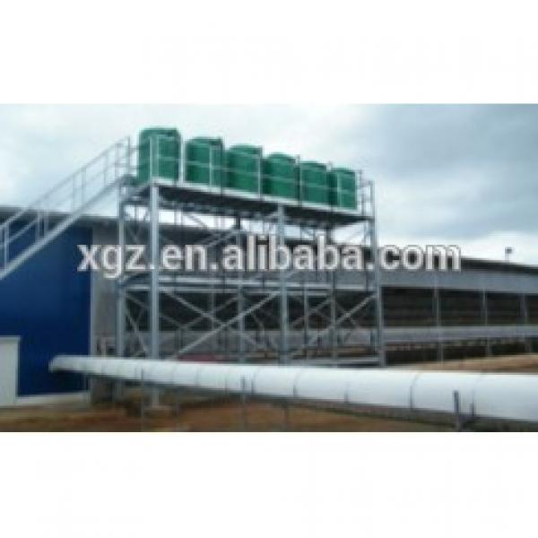 prefab steel structure broiler house with full equipments #1 image