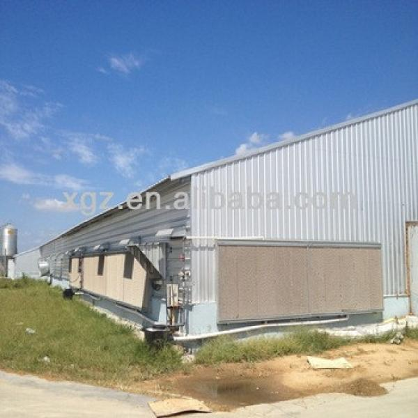 prefabricated steel structure cowshed #1 image