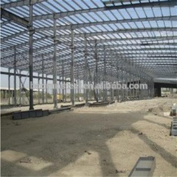 Light duty large span steel structure building construction design #1 image