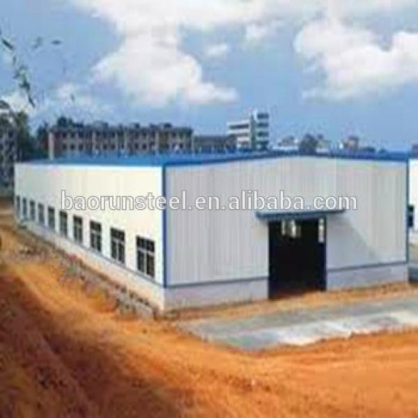 China suppliers verified prefabricated steel structure warehouse #1 image