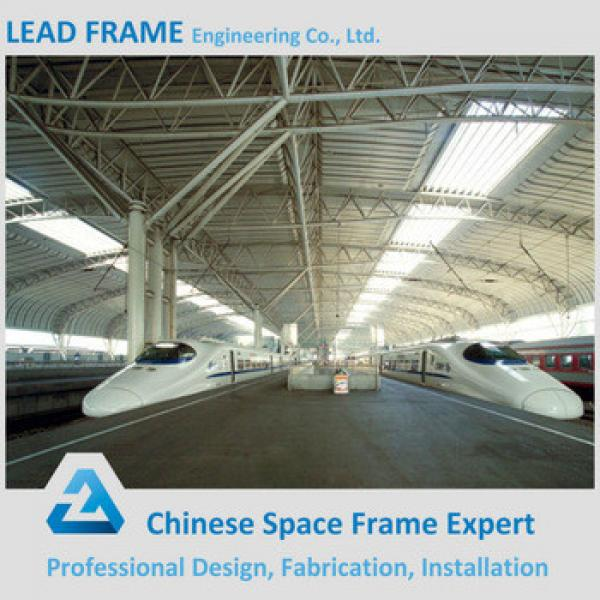 Prefabricated steel structure space frame for train station #1 image