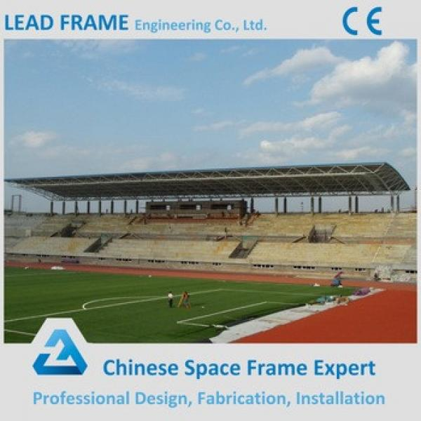 Fast and Clean Installation Prefab Engineering Steel Grandstand #1 image