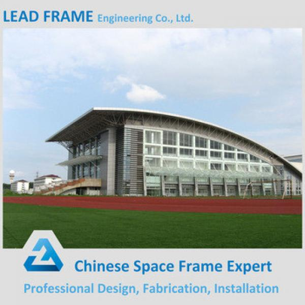 Light Weight steel structure space frame for stadium canopy #1 image