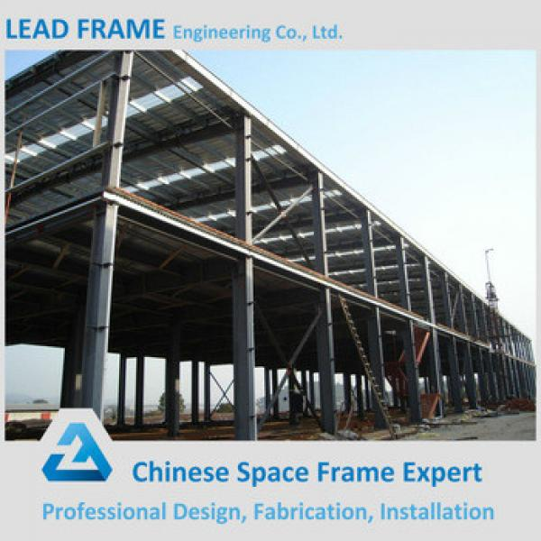 Economical prefabricated steel structure building for sale #1 image