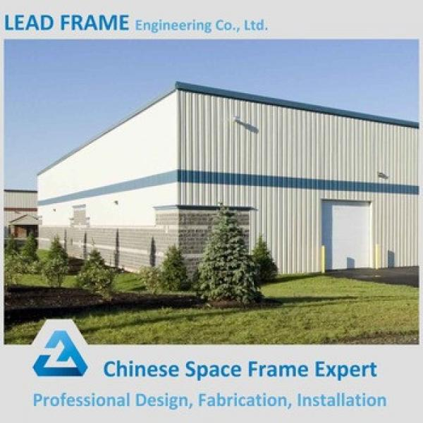 Wide Span Best Design Steel Truss Space Frame Steel Structure for Warehouse #1 image