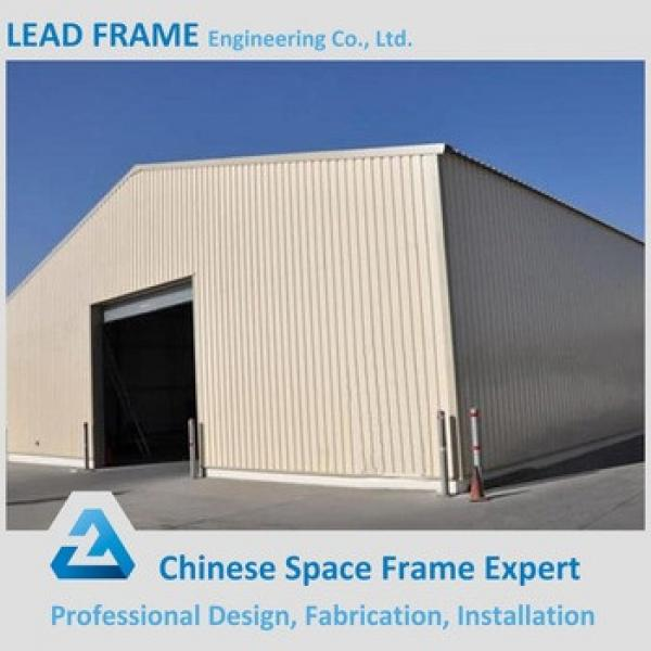 Light steel construction prefab steel structure warehouse #1 image