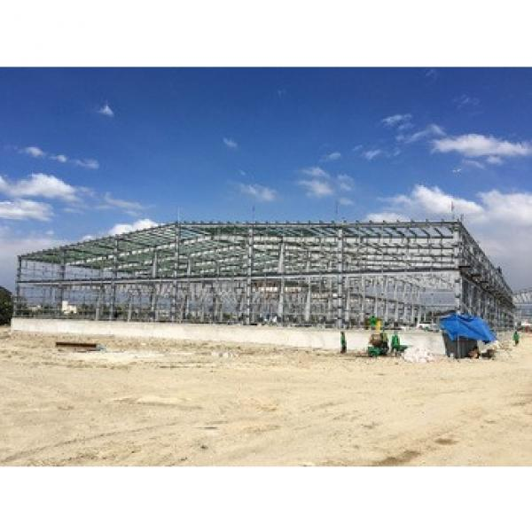 Prefabricated Steel Structure Curved Roof Truss Direct Factory Sheds #1 image