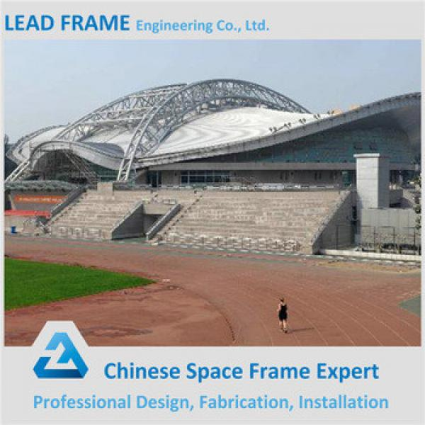 High quality hot dip galvanized steel space frame for stadium #1 image