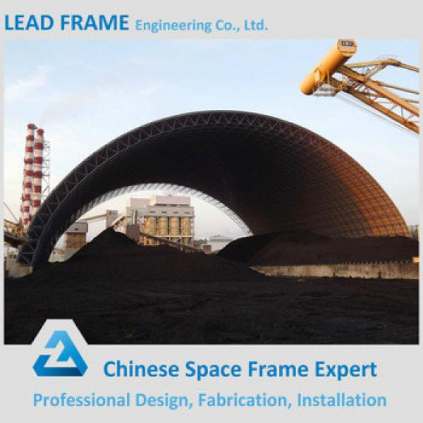 Galvanized steel space frame building coal fired power plant #1 image