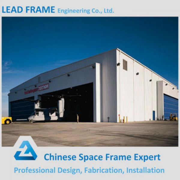 Galvanized steel hangar building with roof truss #1 image