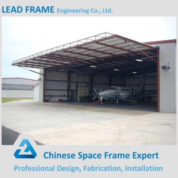 Prefab Hot Dip Galvanized Steel Space Frame for Hangar #1 image