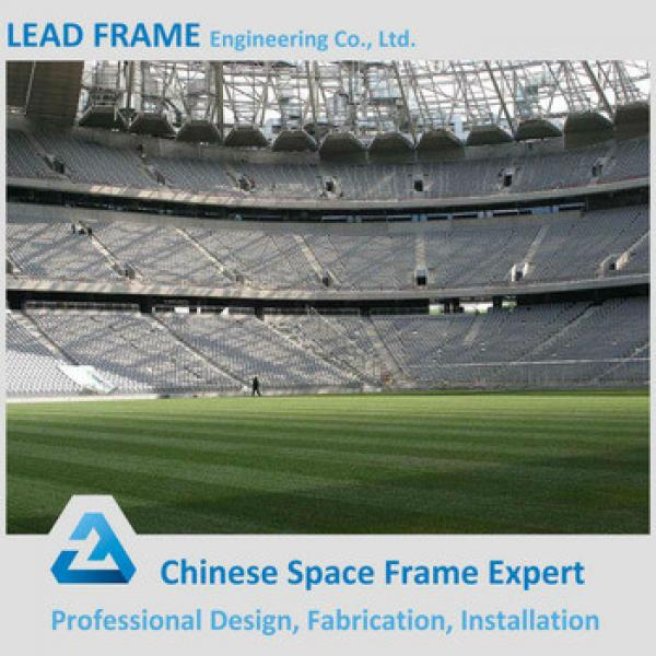 large span steel structure space frame for stadium canopy #1 image