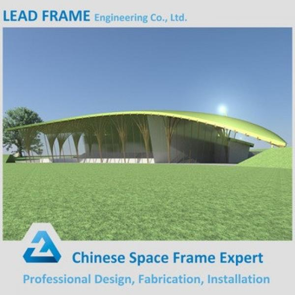High quality steel structure space frame for stadium canopy #1 image