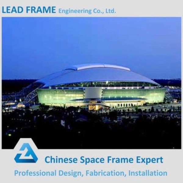 Corrogated Insulated Metal Space Frame Stadium Bleacher #1 image