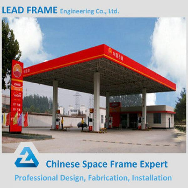 Construction Building Steel Frame Prefabricated Gas Station #1 image